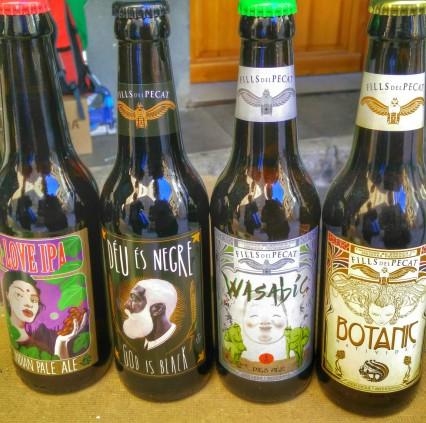 4 bières locales - Madremia Valencia