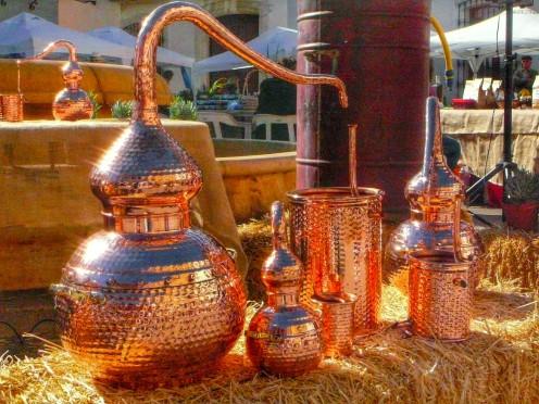 Alambic sur le marché de Xalo - Madremia Valencia