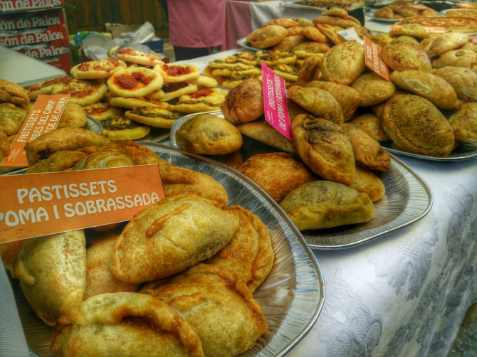 Empanadas sur le marché de Xalo - Madremia Valencia