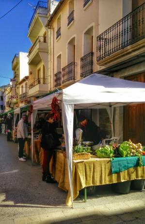 Stands du marché de la terre - Madremia Valencia