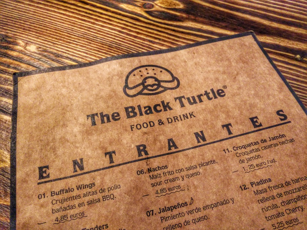 The Black Turtle - madremiavalencia.com - carte