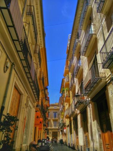 Une rue del Carme